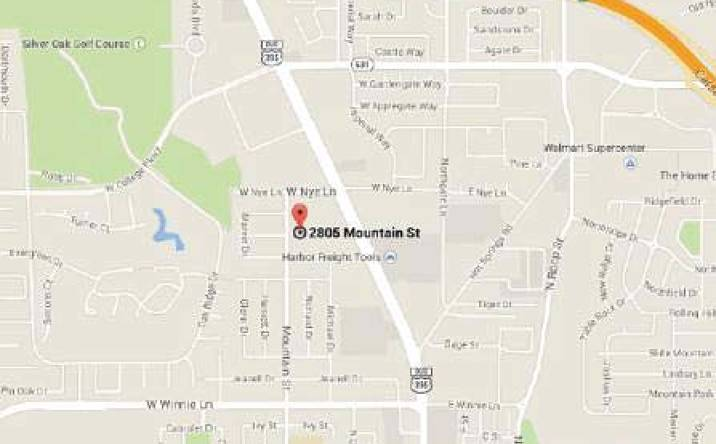 2805 Mountain St., Carson City, NV, 89703