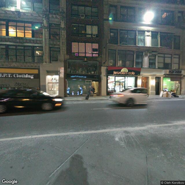 43-51 W 36th St,New York,NY,10018,US